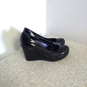Marc By Marc Jacobs Black Patent Leather Pump